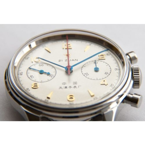 Seagull 1963 - display caseback - leather strap-685